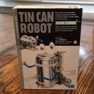 Tin Can Robot Kit add to a bundle from my closet!